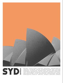 Canvas Print Col Sydney 1