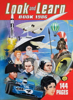 Cover of the Look and Learn Book 1986 Canvas Print