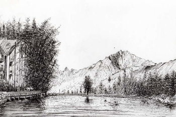 Crans Switzerland, 2009, Canvas Print