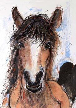 Crazy Horse, 2016, Canvas Print