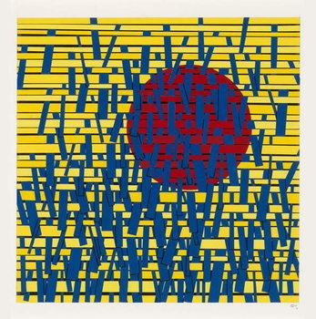 Crossed Lines Canvas Print