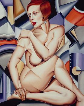 Cubist Nude Canvas Print