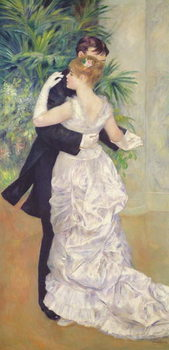 Dance in the City, 1883 Canvas Print