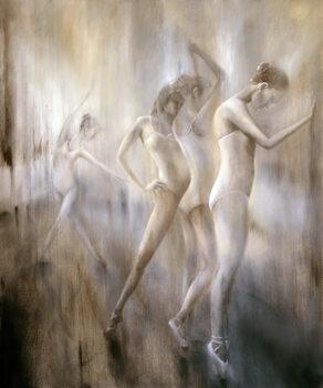 Canvas Print Dancers