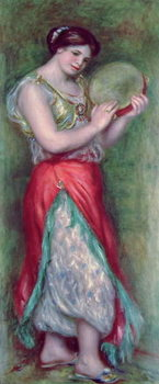 Dancing Girl with Tambourine, 1909 Canvas Print