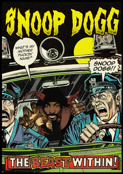 Canvas Print Dangerous Dogg