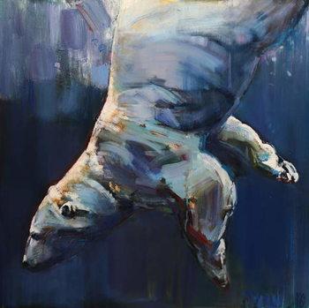 Dark Waters, 2016, Canvas Print