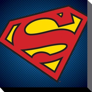Canvas Print DC Comics - Superman Symbol