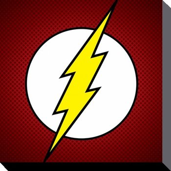 DC Comics - The Flash Symbol Canvas Print
