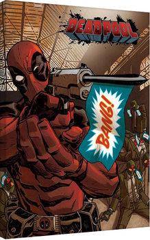 Deadpool-Bang Canvas Print
