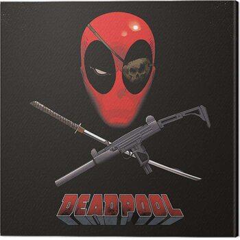Canvas Print Deadpool - Eye Patch