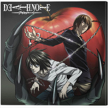 Death Note - Apple Canvas Print