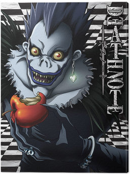 Canvas Print Death Note - Ryuk Checkered