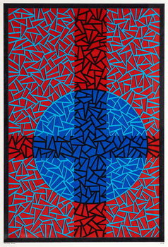 Deep Blue Placebo Canvas Print