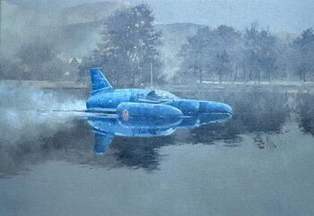 Donald Campbell and Bluebird Canvas Print