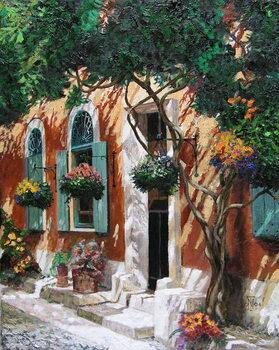 Doors and windows, Pietrasanta, Tuscany, 2000 Canvas Print