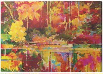 Canvas Print Doug Eaton - Early Evening at Waterloo Screens