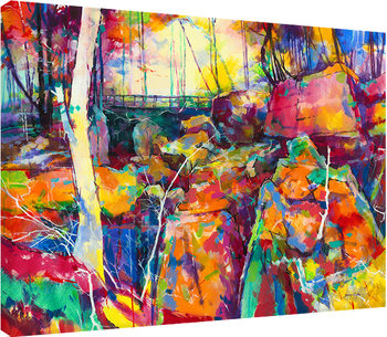 Canvas Print Doug Eaton - Puzzlewood