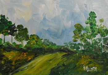 Down the hill, 2014 Canvas Print