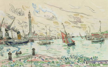 Dunkirk, 1930 Canvas Print