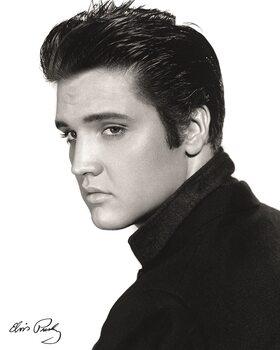 Canvas Print Elvis - Portrait