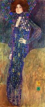 Emilie Floege, 1902 Canvas Print