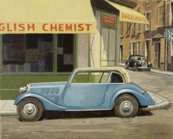 English Chemist Canvas Print