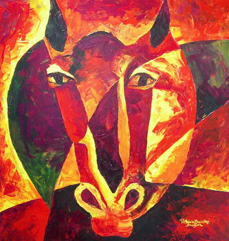 Canvas Print Equus reborn, 2009