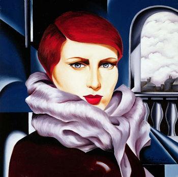 European Winter Canvas Print