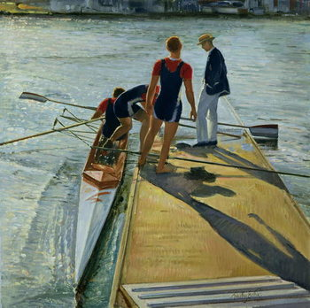 Evening Trial, Henley, 1999-2000 Canvas Print