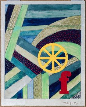 F in Feld, 1920 Canvas Print