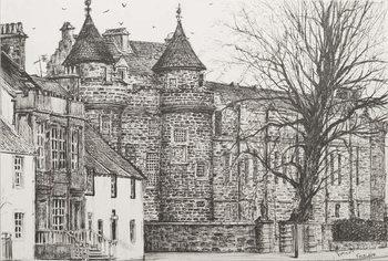 Canvas Print Falkland Palace, Scotland, 200,7