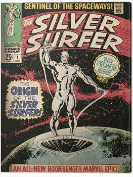 Canvas Print Fantastic Four 2: Silver Surfer - The Origin