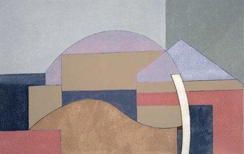 Farm End, 2002 Canvas Print