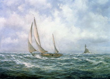 Fastnet Abeam Canvas Print
