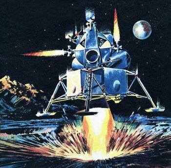 First Moon Men Canvas Print