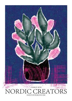 Canvas Print Flowers Love