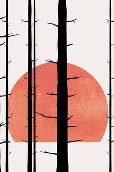 Canvas Print Forest Fairytales BLANC