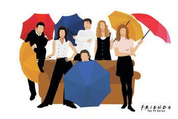 Canvas Print Friends - 1994