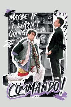 Canvas Print Friends - Commando!
