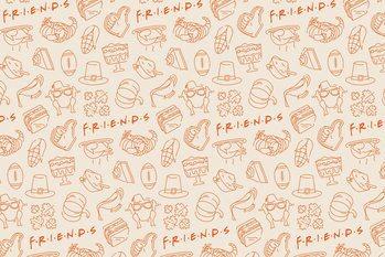 Canvas Print Friends - Food