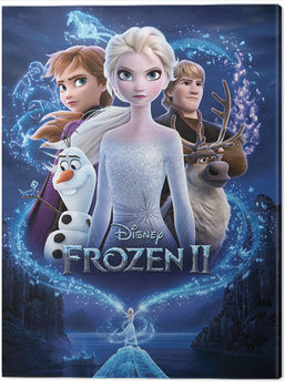 Canvas Print Frozen 2 - Magic