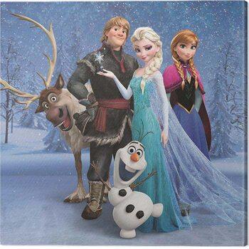 Canvas Print Frozen - Group