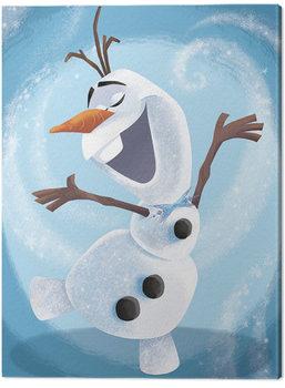 Frozen - Olaf Dance Canvas Print