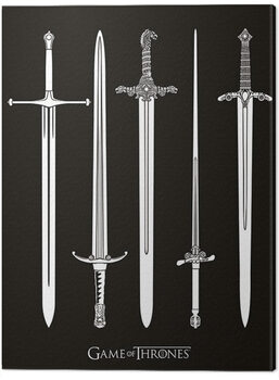 Canvas Print Game of Thrones - Swords