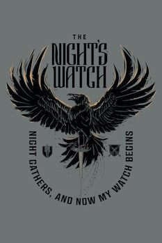 Canvas Print Game of Thrones - The Night's Watch