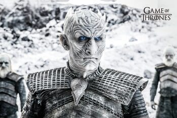Canvas Print Game of Thrones  - White Walker
