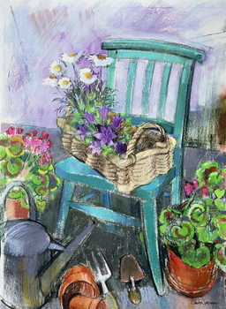 Canvas Print Gardener's Chair