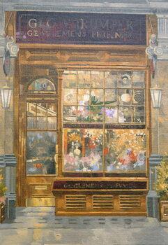Geo F. Tumper, Jermyn Street, London Canvas Print