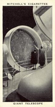Giant Telescope Canvas Print